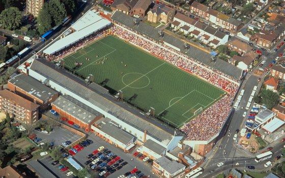 Visit atmospheric stadiums on a British soccer tour.
