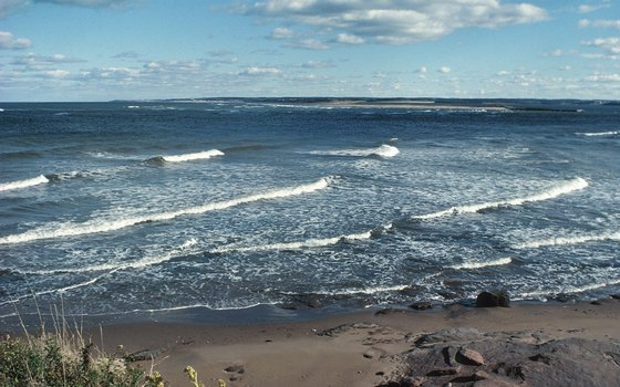 A beach on Prince Edward Island.