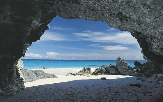 People of all ages enjoy the sandy beaches and British flavor of Bermuda.