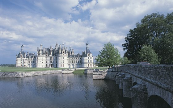 Chambord is one of several famous chateaus in the Loire Veszalley.