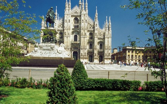 The Duomo is one of Milan's most recognizable landmarks.
