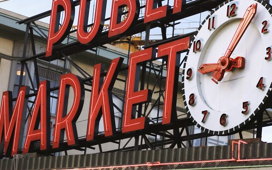 Pike Place is a public market in Seattle that's open seven days a week.