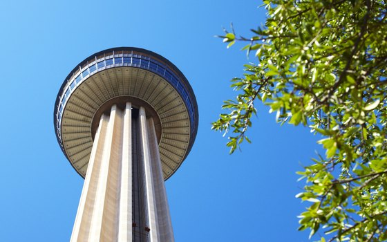 The Tower of the Americas in San Antonio is 750 feet tall.