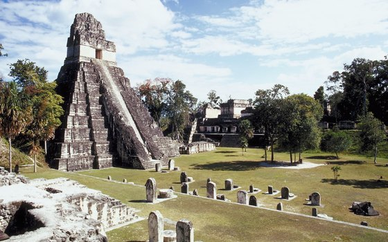 Explore the Mayan Temple area at Tikal National Park.