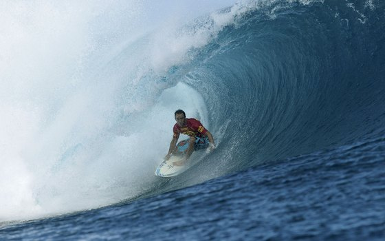 Tahiti's infamous Teahupoo has hosted many professional competitions but is only one of many gnarly waves on the island.