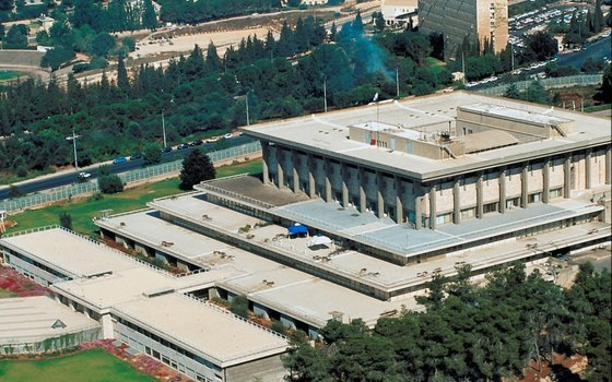 The Knesset offers tours of Israel's parliament building.