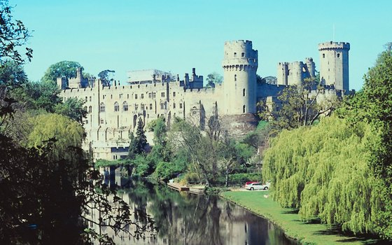 Visit Warwick Castle in the Midlands.