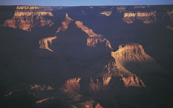 The Grand Canyon of the Colorado River is one of the biggest gorges in the world.