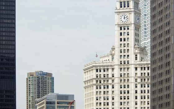 The Wrigley Building.