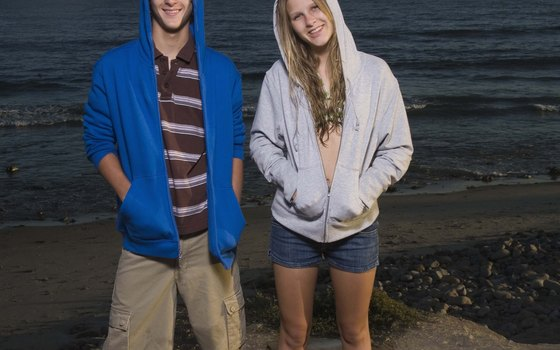 Beach wear should include lightweight jackets or sweater for cool nights.