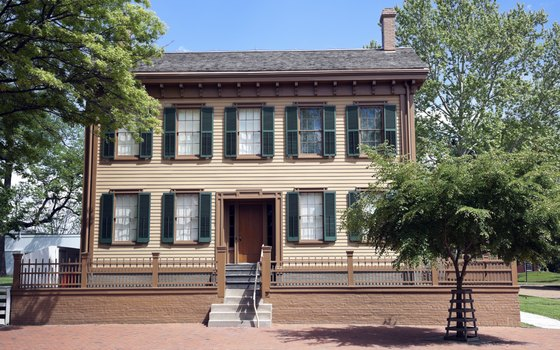 The Abraham Lincoln Home National Historic Site draws history lovers to Springfield, Illinois.