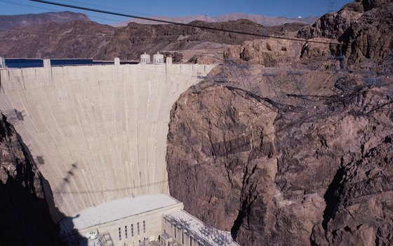 Visit historic Hoover Dam at Lake Mead National Recreation Area, Nevada.