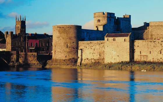 Learn about Ireland's past at King John's castle in Limerick.