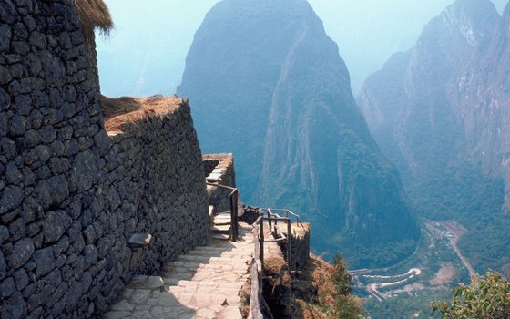 Conquer your fear of heights as you marvel at Inca engineering.