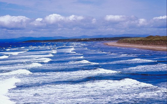 Walk along the shingle beaches of Donegal while in Northern Island.