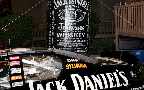 Jack Daniel's Whiskey has even given its name to race cars.
