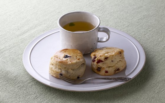 Alice's Teacup is known for its wide selection of teas and scones with clotted cream.