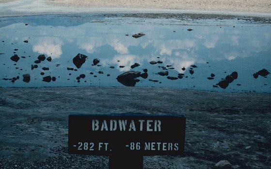 Badwater Basin is the lowest point in North America.
