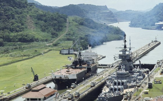 Panama's narrow isthmus is what allowed the Panama Canal to be realized.
