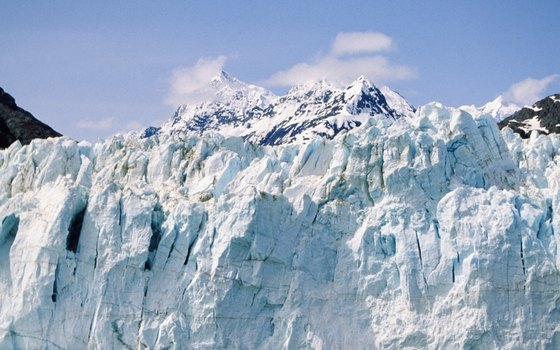 Alaska is home to 28,800 square miles of glaciers, according to the Alaska Department of Natural Resources.