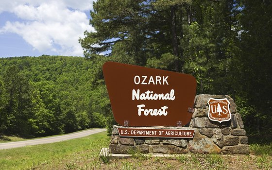 The Ozark National Forest is located in northwestern Arkansas.