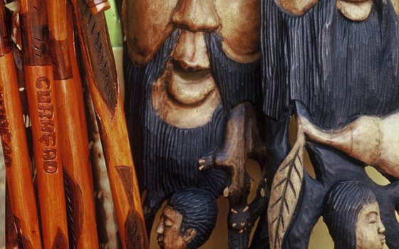 Wood carving is one of the most popular visual arts in Jamaica.