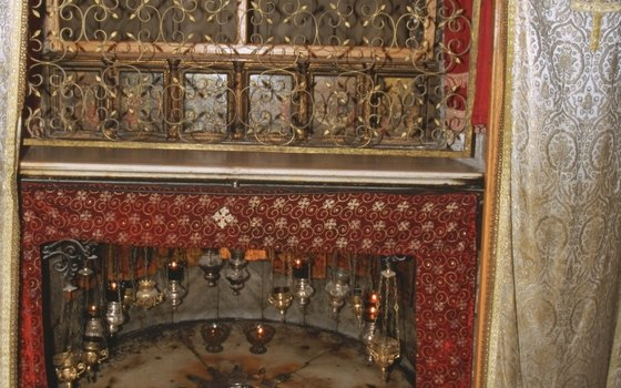 The Grotto of the Nativity is believed to be the exact location of the birth of Jesus.