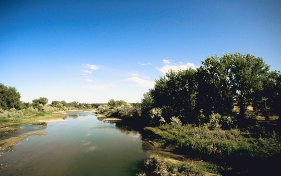 The Platte River offers camping opportunities.