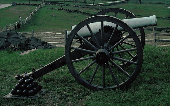 The National Park Service maintains landmarks at Gettysburg.