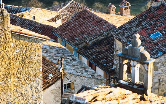 Towns and villages throughout Croatia are filled with 18th- and 19th-century architecture.