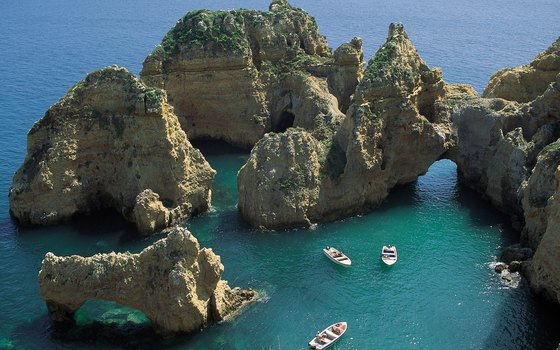 The Algarve is a popular coastal destination away from the bustle of Lisbon.