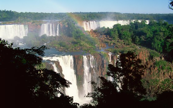 You can visit Iguacu Falls on a bus tour of southern Brazil.