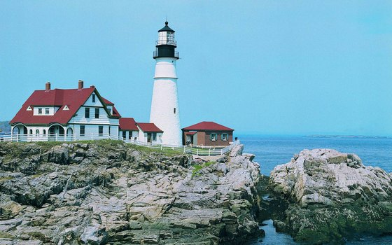 The Portland Head Lighthouse is Maine's oldest lighthouse.