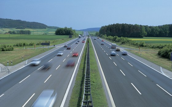 Rent a car to drive on the famous German Autobahn.