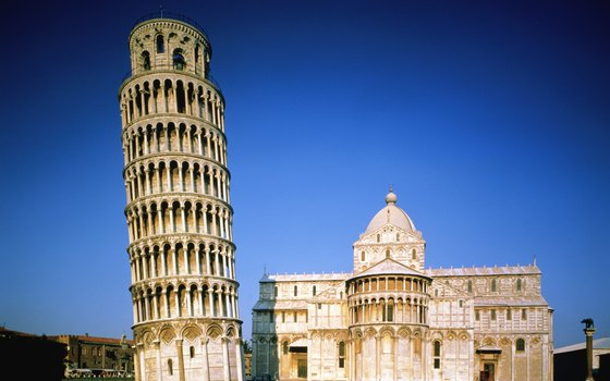 The Leaning Tower of Pisa is one of the world's most recognizable structures.