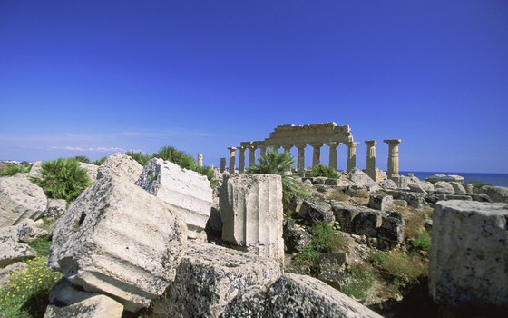 Greek ruins abound on the Mediterranean's largest island.