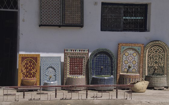 Look out for Islamic-influenced crafts in Fez.