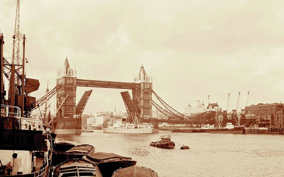 Tower Bridge is often mistaken for London Bridge.