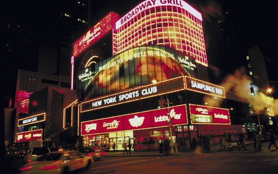 Midtown hotels are close to the theatre district and Times Square.
