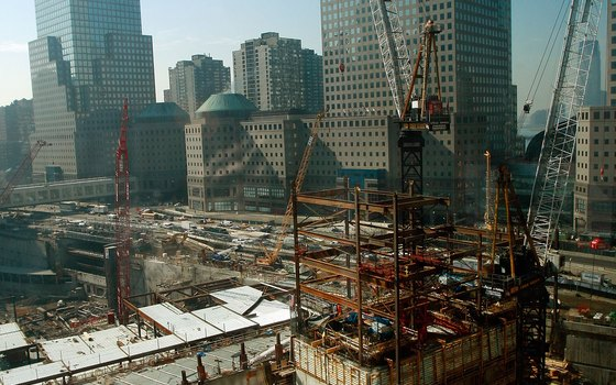 On this tour, you'll visit the construction site of the Freedom Tower.