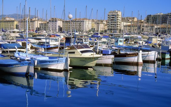 The Old Port of Marseille is one of the city's most visited sites.