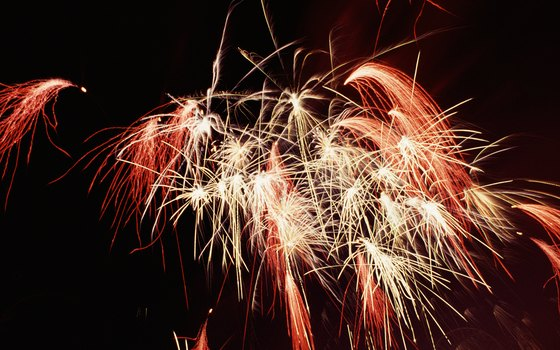 Catch live entertainment and fireworks at HarborWalk Village