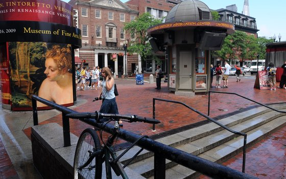 Shaped like a triangle, Harvard Square is a perfect spot for people watching.