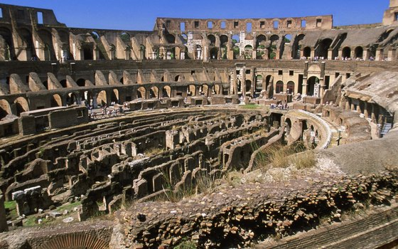 The Coliseum in ancient Rome could seat 50,000 people.