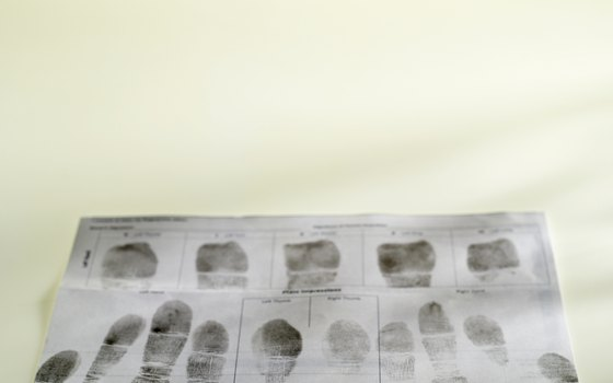 Officially administered fingerprints are part of the Spanish visa process.