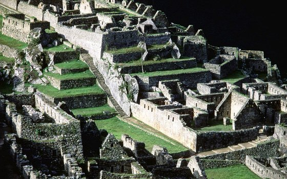 Machu Picchu is one of Cuzco's main tourist attractions.