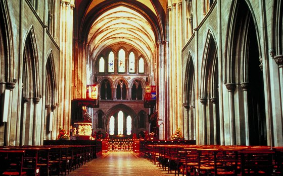 St. Patrick's Cathedral offers an interesting glimpse of Ireland's religious architecture.