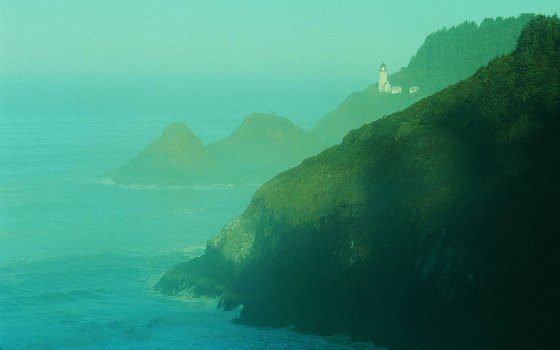 Florence's Heceta Head Lighthouse is said to be haunted by a young girl.
