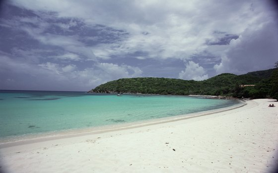 Enjoy the beach in the U.S. Virgin Islands.