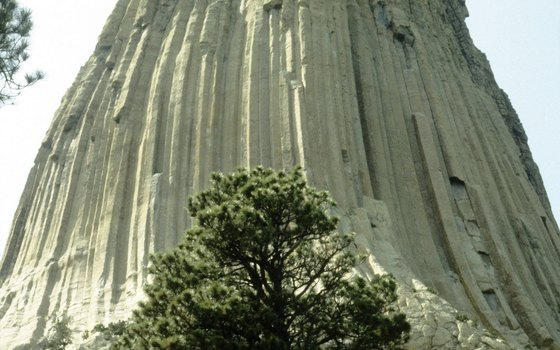 Fort Devils Tower is a half mile west of the entrance to Devils Tower Monument.
